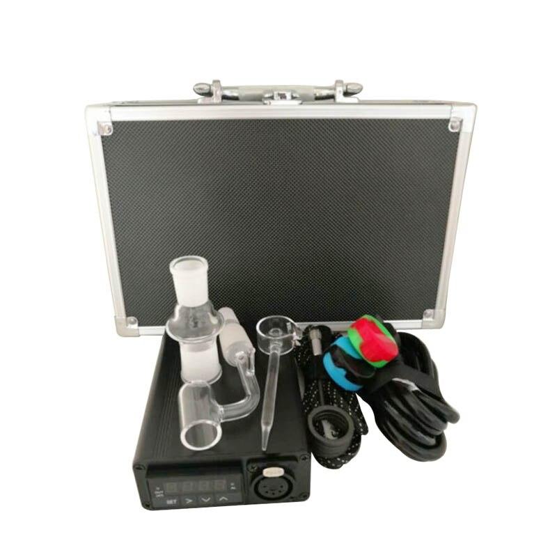 Kits d'enail de clou de Quartz D boîtier de contrôle de température Dab électrique 14mm 18mm clous de Quartz mâle 20mm Heate de bobine pour Bong de verre de plate-forme
