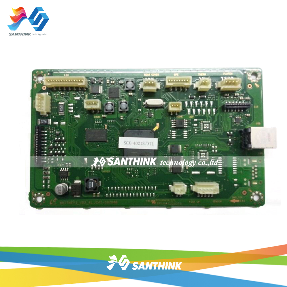 100% Test Main Board For Samsung SCX-4021S SCX-4021 SCX 4021 4021S SCX4021 Formatter Board Mainboard On Sale free shipping mainboard for samsung scx 4720f scx4720f scx 4720f 4720 formatter board main board on sale