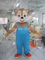 Экспорт высокого качества улыбка синий подтяжки белка маскарадный костюм Горячая Распродажа бурундук костюмы