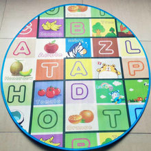 Kids Large Newest Safe Alphabet Letter Animals Play Mat Rug Carpet Infant Children Gym Mat Playmat Baby Floor Game Mats Soft Toy(China)