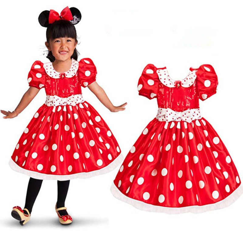 Red dress outfits kids