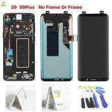 Новый AAA S9 для samsung Galaxy S9 ЖК-дисплей Дисплей S9 плюс ЖК-дисплей Сенсорный экран планшета Ассамблеи для Galaxy S9 G960F G965F G960 G965