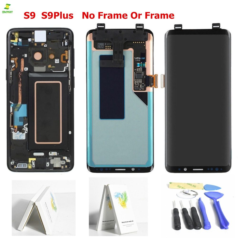 Nuovo AAA S9 per Samsung Galaxy S9 Display LCD S9 Più LCD Touch Screen Digitizer Assembly per la Galassia S9 G960F g965F G960 G965