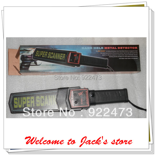 DHL Free shipping MD B super scanner handheld metal detector pcs lot