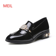 Low Heel Shoes for Women Elegant Wedding Shoes Women Pumps Escarpins Femme 2018 sexy Black Kitten Heels Party Lolita Shoes футболка tommy hilfiger tommy hilfiger to263emfvwi1