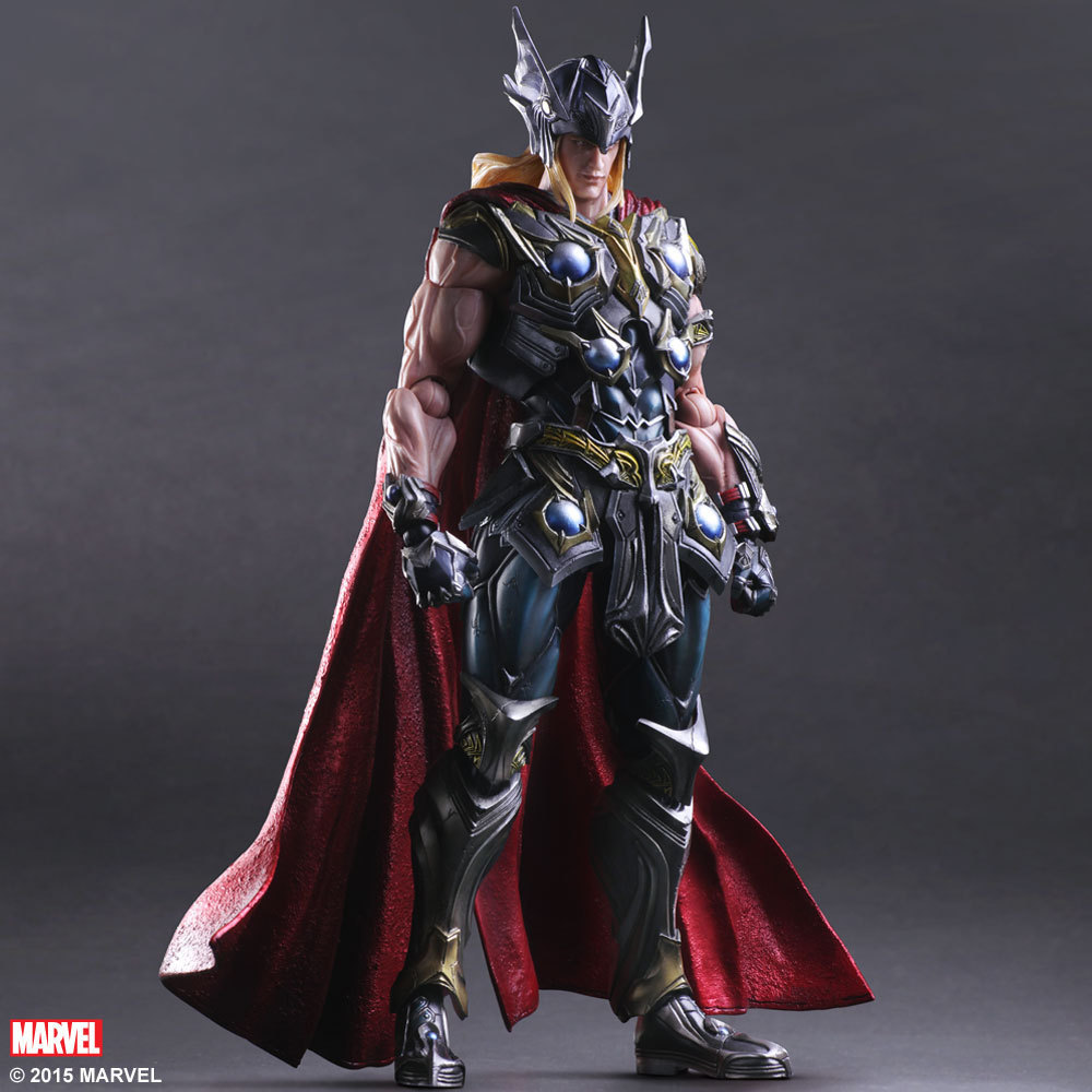 Disney Marvel Avengers 27cm Thor 3 Action Figure Posture Model Anime Decoration Collection Figurine Toys model цена