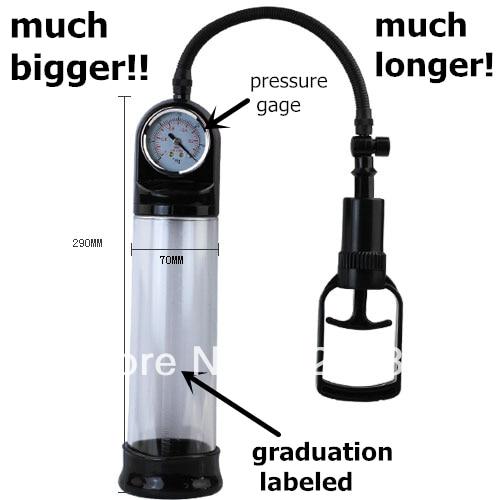 Vacuum pump sex toy