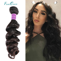 Ali Fumi Queen Hair Product Brazilian Hair Weave Bundles Virgin Hair Natural Wave 10 22 Nature Color Weaving Unprocessed Hair