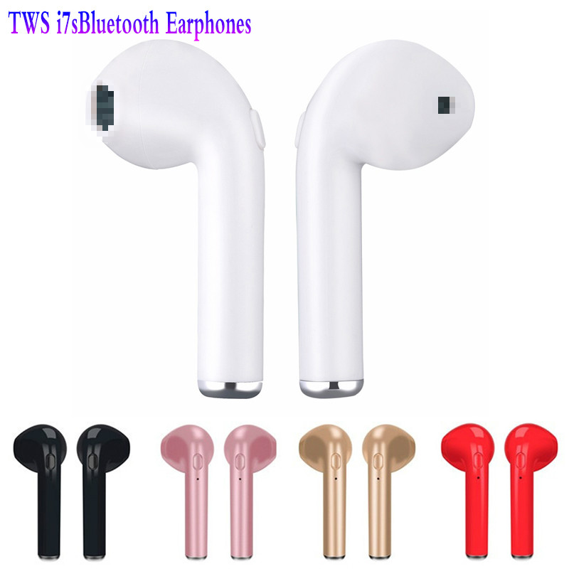 TWS I7s Mini Wireless Bluetooth Earphone Wide Compatibility In-Ear Stereo Headest For Wireless Headsets For All Smart Phone