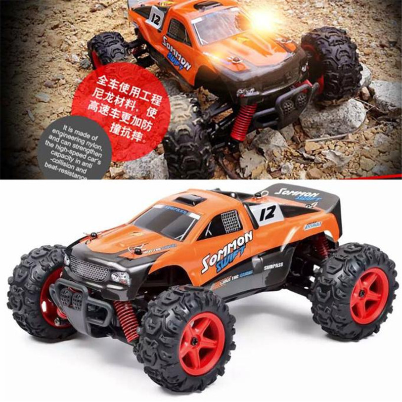 Diecast Metal Alloy Model Car Birthday RC Car, SUBOTECH 25MPH 40km/h High Speed 1:24 Scale Off Road Toys For Children Boys 1 18 scale red jeep wrangler willys alloy diecast model car off road vehicle model toys for children gifts collections