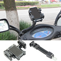 360Degrees Rotation Motorcycle Handlebar Mount Holder Mobile Phone for HTC iPhone 5S 6S Samsung Xiaomi Cell Phones GPS Universal