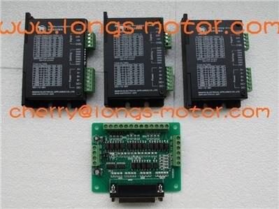 3 axis stepper dm420a motorista motor 1 7a 12 36vdc 128 128micostep bipolar controlador board db25