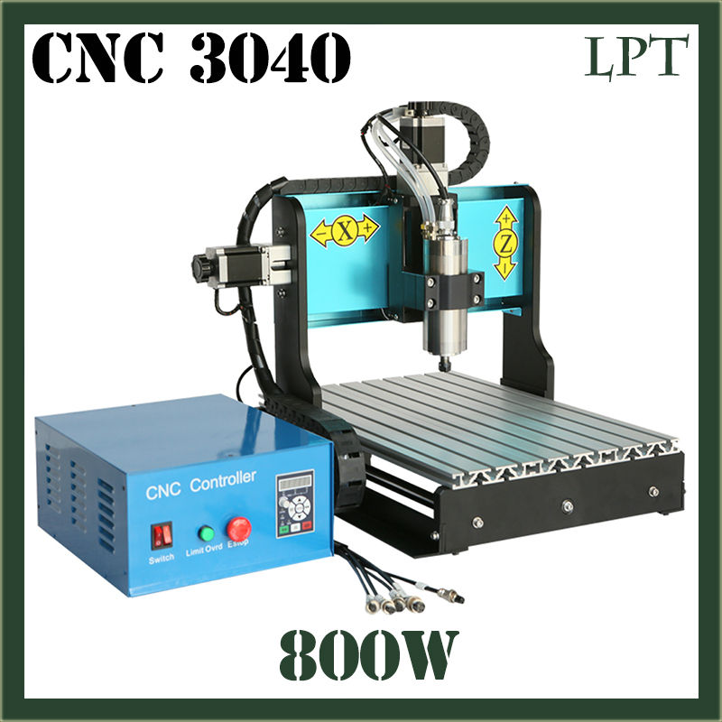 JFT CNC Router 3040 800W Engraver 3 Axis Parallel Port Wood Bead Making Screw Carving Spindle Motor Milling Drilling Machine  jft professional wood cutting machine 3 axis cnc router usb 2 0 port engraver machine high precision ball screw 6090