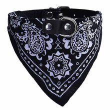 1 Pc Bello Cane di Animale Domestico Collari Sciarpa Puppy Regolabile Triangolare Bandana Cane di Animale Domestico Del Gatto Del Collare Del Legame di Trasporto Libero(China)