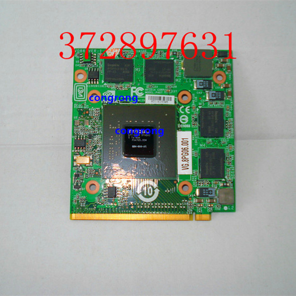 VG.8PG06.002 VG.8PG06.001 8600M GT G84 600 A2 512M VGA Video Card For 5920G 5930 6530G6920G 6930G 6935 7520G 7720G 8730G 8600MGT