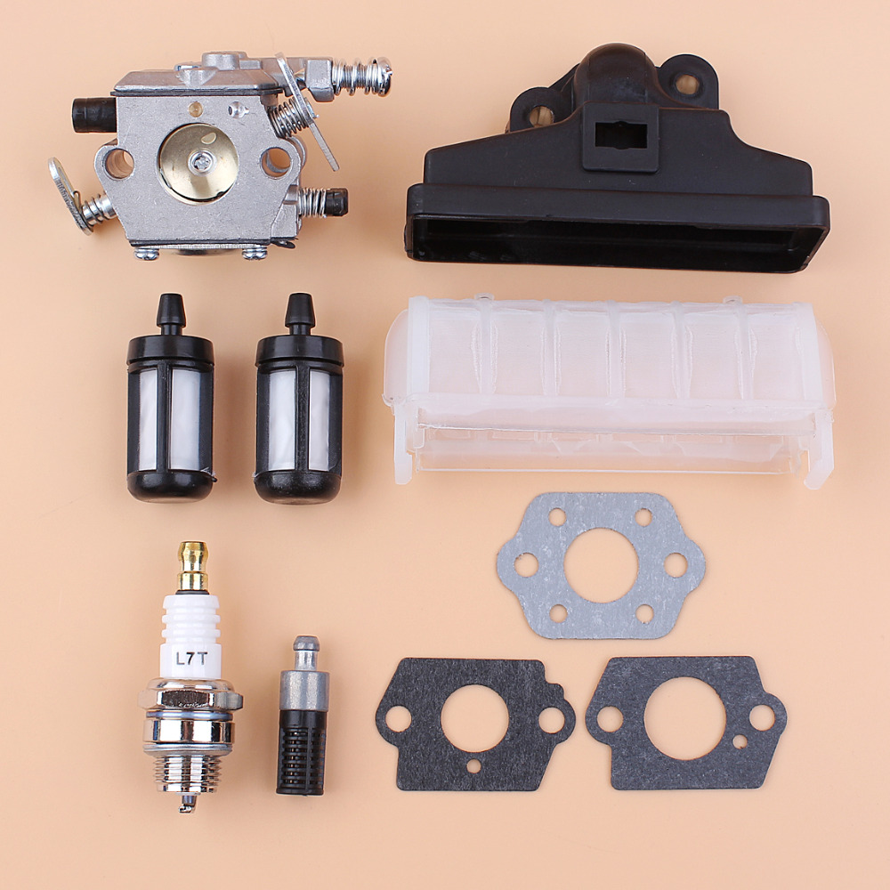 Carburetor Air Fuel Oil Filter Gasket Kit For STIHL MS250 MS230 MS210 025 023 021 Chainsaw Parts Walbro Carb