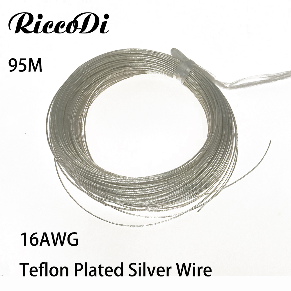 high quality 95M16AWG teflon wire silver plated wire 1 5mm2 section