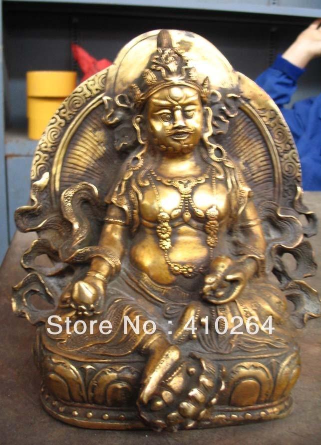 [Artisanat ancien] imitation Antique FOGUANGPUZHAO 19 cm bouddhisme collections plaque de bronze avec statue en or (A0314)[Artisanat ancien] imitation Antique FOGUANGPUZHAO 19 cm bouddhisme collections plaque de bronze avec statue en or (A0314)