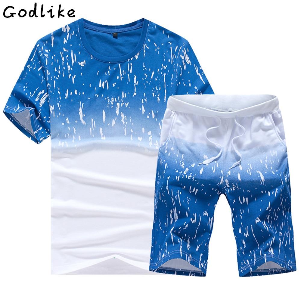 GODLIKE 2017 أزياء الصيف الرجال ارتداء تي - ملابس رجالية