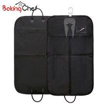 49b0a834b31f8 BAKINGCHEF Seyahat Takım saklama çantası Iş Erkek Giyim Giysi Ceket Kapak  Giyim Toz Geçirmez Organizatör Aksesuarları Malzemeler.