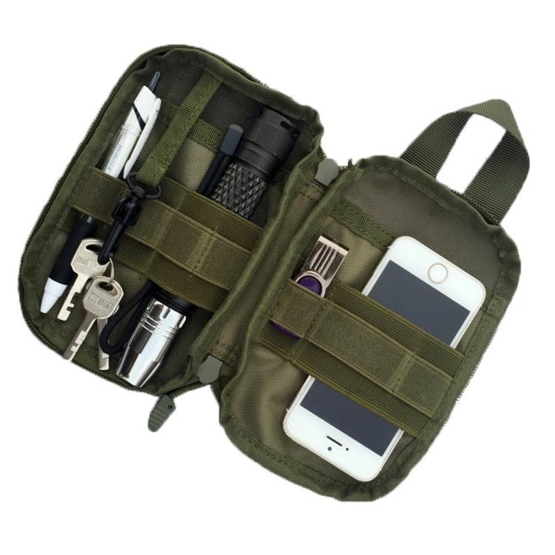 Mäns resebälte Pocket Organizer EDC MOLLE Militära Waist Packs - Bälten väskor - Foto 1