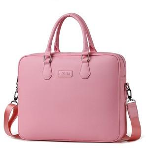 PU Leather Laptop Bag 14 15 Notebook Tablet Case For Macbook Air Pro Business Briefcase Shoulder Women Handbag