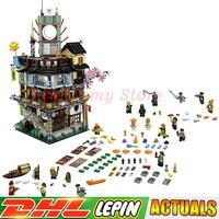 2018 DHL Lepin 06066 Construction Model Creative City 4932pcs Modular Building Blocks DIY Toys Bricks Compatible 70620 as Gift