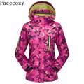 Facecozy Women Autumn Winter Outdoor Sport Climbing Jacket Hiking &Camping Suit Jacket