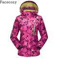 Facecozy mujeres otoño invierno chaqueta de deporte al aire libre escalada senderismo & camping chaqueta de traje