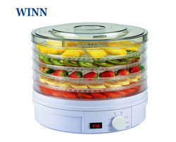 Food Dehydrator 5-layer 110V/220V dried fruit machine FD770 household pet jerky maker vegetable herb food drying machine