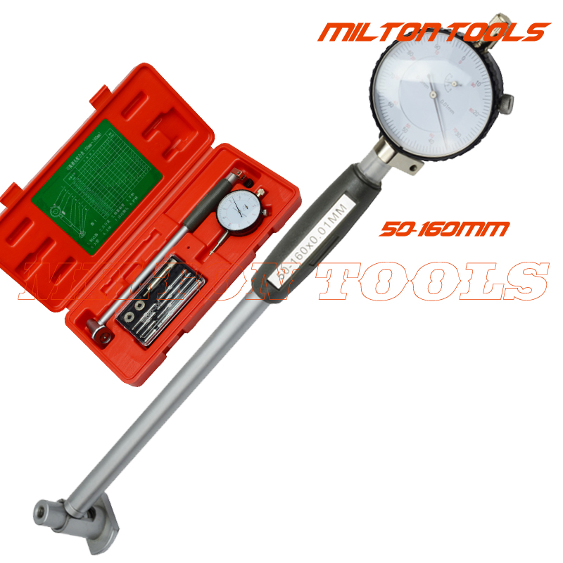 50 160mm Dial bore gauge Center Ring Dial Indicator Micrometer Gauges Measuring Tools