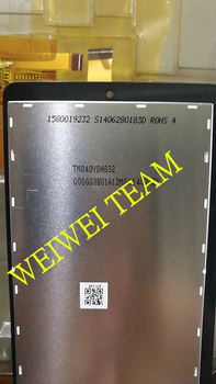 New and original LCD TM040YDHG32 TM040YDHG32-00 Screen display with Touch screen Panel glass digitizer replacement parts