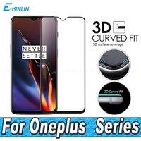 Protector de pantalla película protectora resistente para One Plus OnePlus 9 8T 8 Pro 7T 7 6T 6 5T 5 5G cubierta completa 3D curvado Vidrio Templado