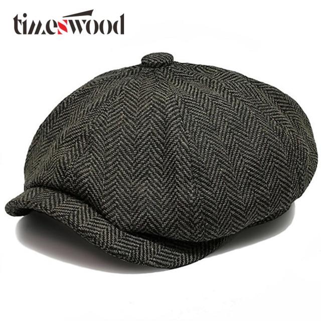 2018 New Hot Fashion Gentleman Octagonal Cap Newsboy Beret Hat Autumn And  Winter For Men s Jason 3793fc773bd2