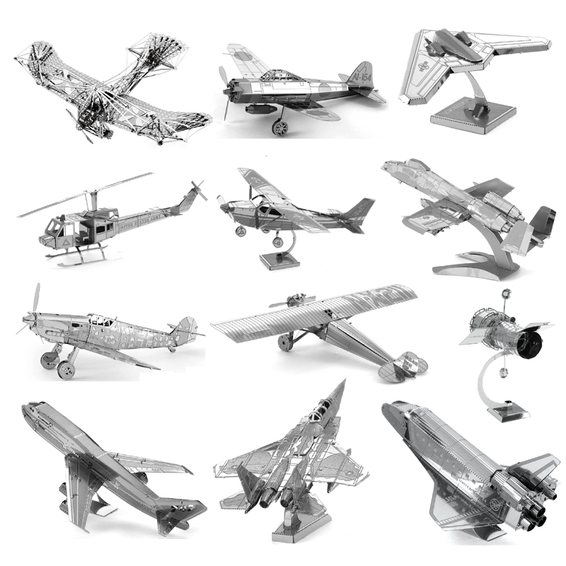 Creative Airplane series Spaceship Model Assemble Toys