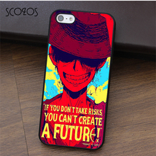 SCOZOS Luffy One Piece phone case for iphone X 4 4s 5 5s Se 5C 6 6s 7 8 6&6s plus 7 plus 8 plus #fa395