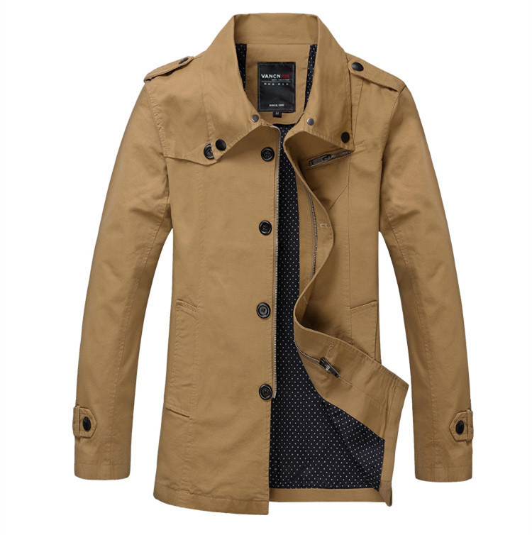 Men's casual jackets cotton jacket coat – Modern fashion jacket ...