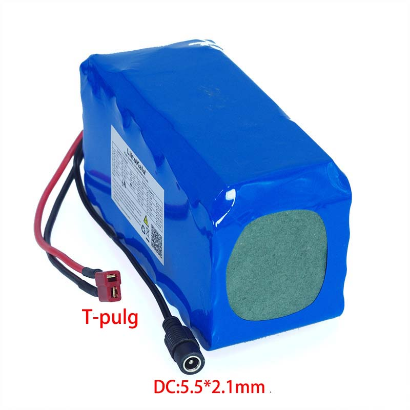 Image 5 - 60V 16S2P 6Ah 18650 Li ion Battery Pack 67.2V 6000mAh Ebike Electric bicycle Scooter with 20A discharge BMS 1000Watt-in Battery Packs from Consumer Electronics