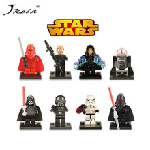 1PC Star Wars Kallus R5D4 Robot Count Dooku Darth Vader Darth Maul Building Blocks Toys Compatible