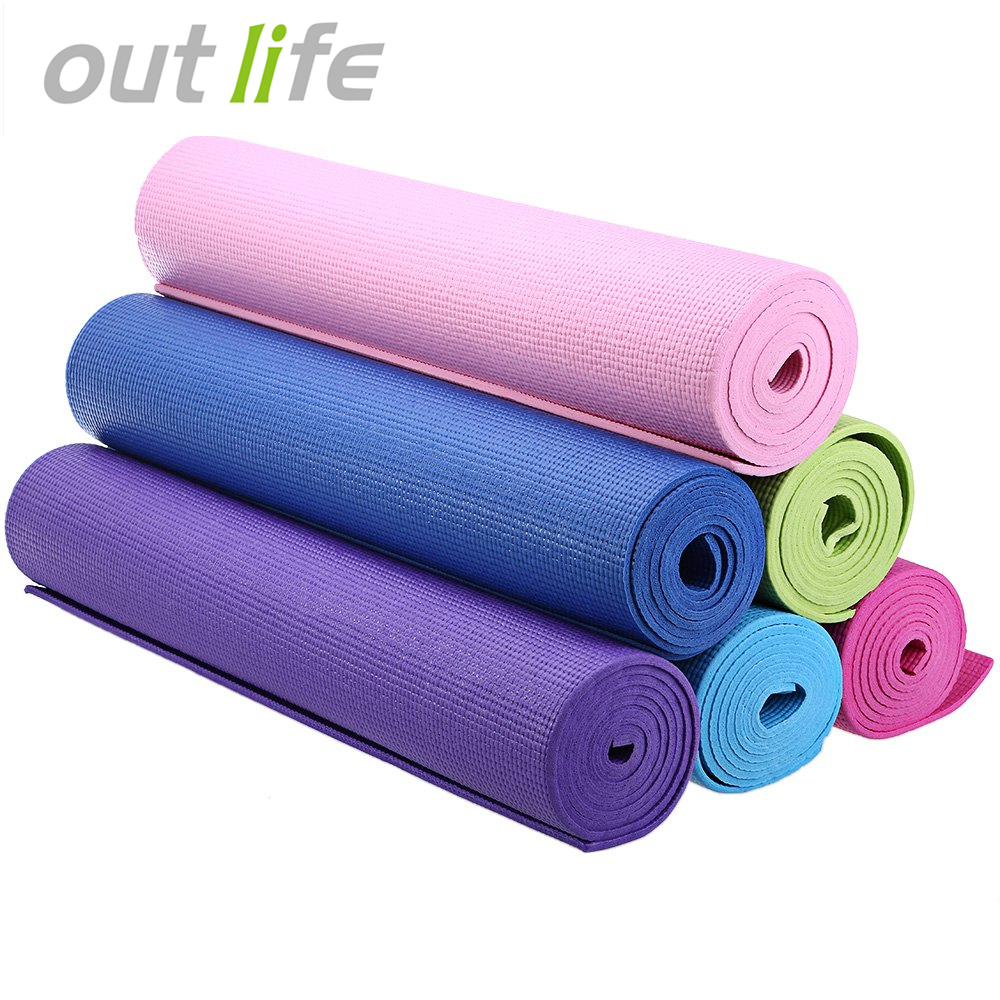 Hot Sport Equipment 173 x 61 x 0.6cm PVC Yoga Mat Thick Exercise Fitness Nonslip Gym Cushion Yoga Sports Accessories  yoga accessories thick mat | The Best Yoga Mats | My RECAP After Testing them All | Sweat Proof, Best for Hot Yoga, more Hot Sport Equipment 173 x 61 x 0 6cm PVC font b Yoga b font font
