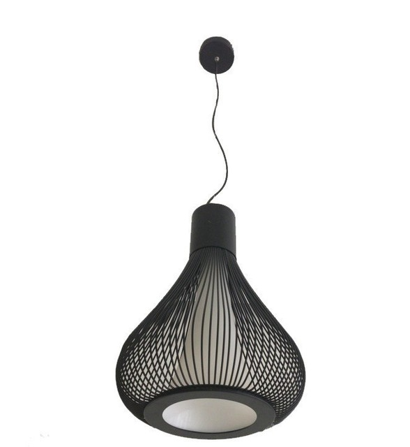 Modern Pendant Lights Italy Design Wrought Iron Birdcage ...