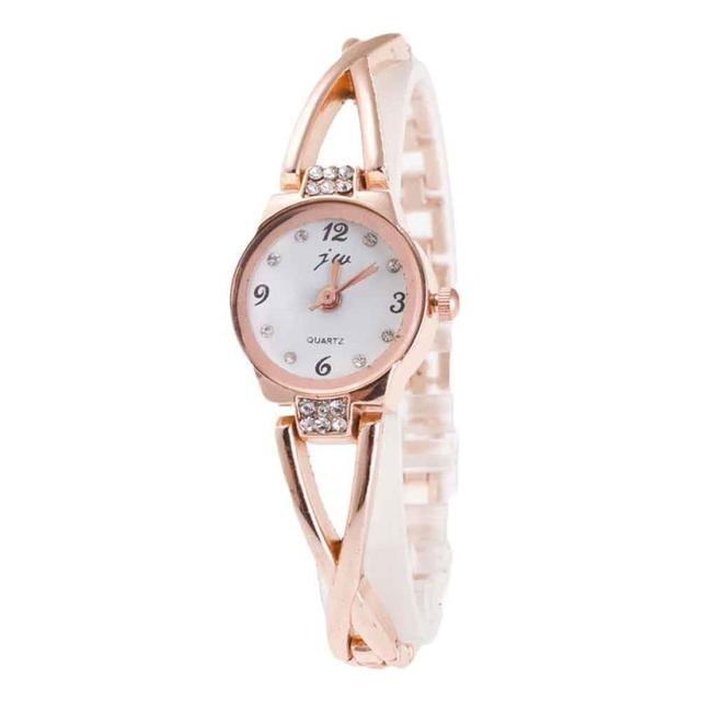 Women Watch Minimalism Elegant Famous Luxury Silver Quartz Watches Ladies Steel