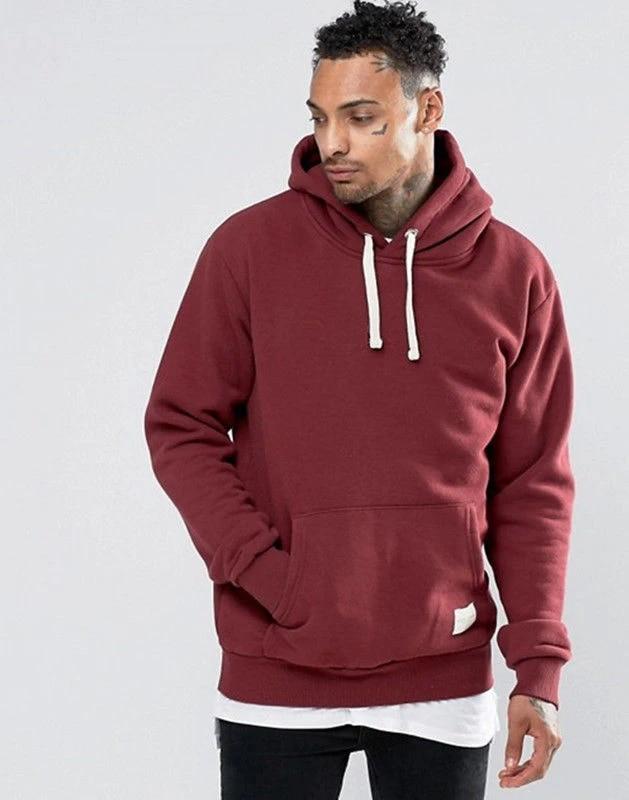 Mens Long Sleeve Hoodie Fleece Sweatshirts Sweater Pullover Warm Sweatshirt Tops