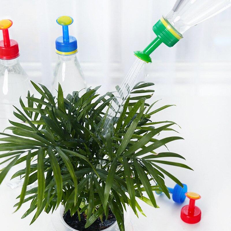1 шт., портативная пластиковая маленькая насадка для бутылки с водой, сменный распылитель, бытовой полив, цветы, суккуленты, садовые инструменты