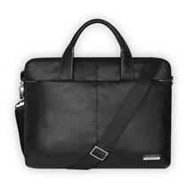 Luxury Leather Laptop Briefcase Bag Business Shoulder Case Messenger bag Computer Accessory Laptop Bag for Laptop 13 14 15 15.6