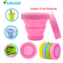 Menstrual Sterilizing Cup Collapsible Silicone flexible to clean Recyclable Camping Foldable Sterilizer