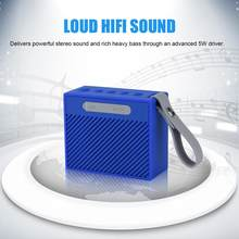 Mini portátil recargable IP66 impermeable inalámbrico Bluetooth V4.2 altavoz bajo pesado AUX Altavoz bluetooth(China)