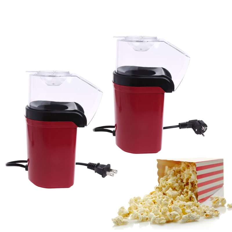 FREE-ON High Quality 1200W Mini Popcorn Making Machine Hot Air Popcorn Maker Kitchen Anti-scald Corn Poping Popper with EU Plug брюки jennyfer jennyfer je008ewnyb21