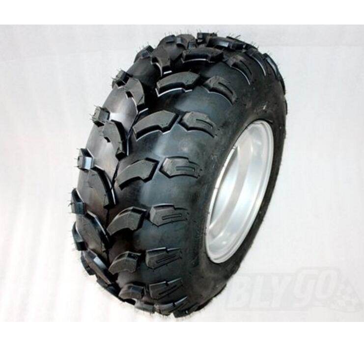 20X10- 10 inch Rear Wheel Rim + Tyre Tire 150cc 250cc Quad Dirt Bike ATV Buggy atv tyre
