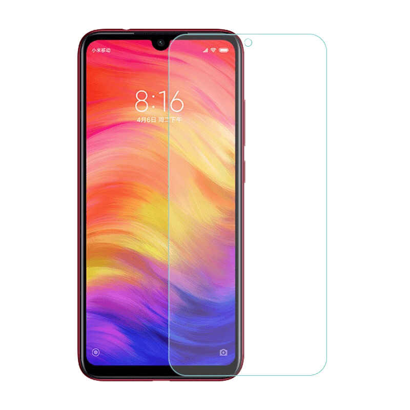 واقي للشاشة لـ Xiao mi Red mi نوت 7 6 pro 5 زجاج حماية من الزجاج المقسى لـ Xiao mi 8 pocophone f1 mi x 2 3 A2 lite A1